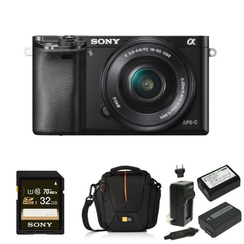 Sony Alpha A6000 Mirrorless Digital Camera With 16 50mm