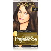 L'Oreal Paris Superior Preference Premium Haircolour, 5 Milan Medium Brown