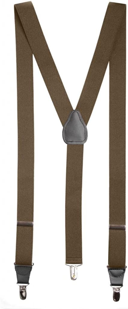Suspender for Women Elastic Adjustable Y-Back X-Back With Leather Trim Many Styles and Color Options