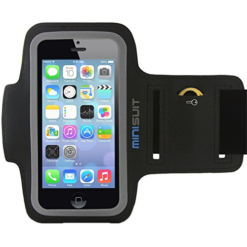 do iphone 5 cases fit iphone 5c minisuit sporty armband key holder for iphone 5 5s 5c se 19697