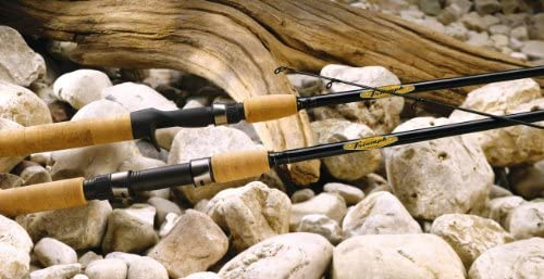 St. Croix Triumph Graphite Musky Fishing Rod with Cork Handle