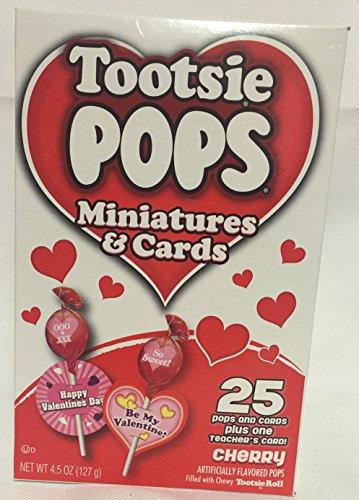 Tootsie Roll Tootsie Pops Miniatures & Cards Cherry