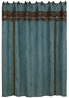 Good HiEnd Accents Del Rio Western Shower Curtain