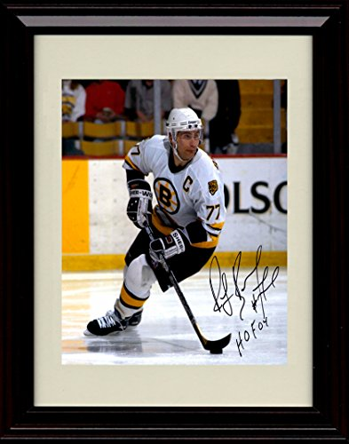 Framed Ray Bourque Autograph Replica Print - Boston (Ray Bourque Framed)