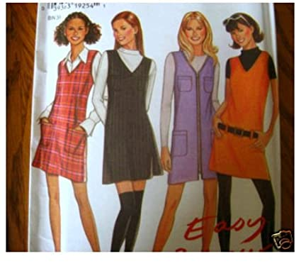 9018c8cca Amazon.com  New Look Sewing Pattern 6535. Misses Sizes 6 8 10 12 14 ...