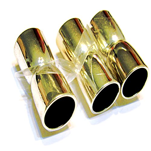 10 x Corebead Magnetic Scarf End Caps Gold Plated