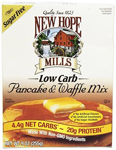 Sugar Free Pancake Mix - New Hope Mills Sugar Free Pancake & Waffle Mix (9 Ounces)