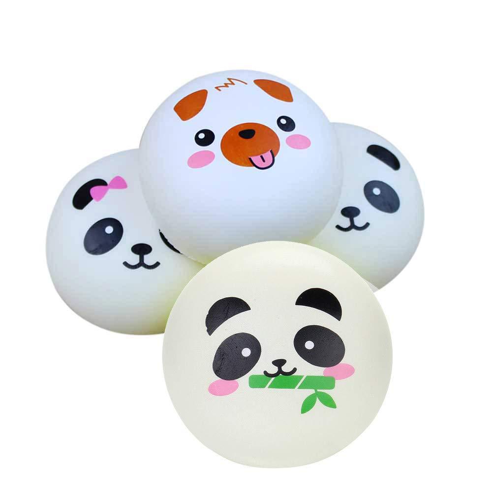 Bescita Stressabbau-Spielzeug, Silly Brownie Squishies Langsam Steigende Squeeze Toys Duft Stressabbau Spielzeug 4 cm