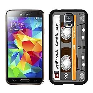 Audio Cassette Samsung Galaxy S5 Case Black Cover 5