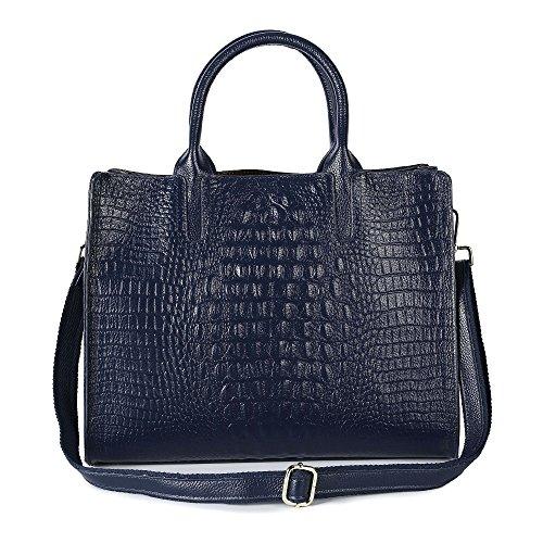 Women Crocodile Handbags Ladies Top Handle Tote Bag Embossed Purses for Ladies - Online Luxury Shopping Brand