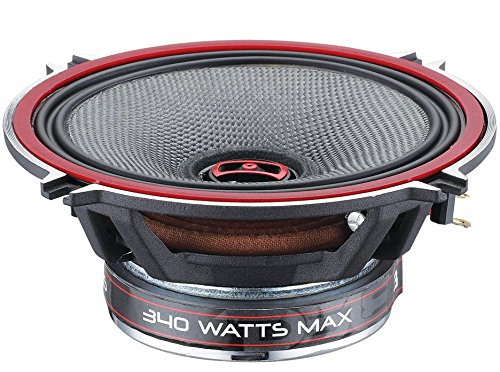3 Way Chrome Speakers - DS18 EXL-SQ5.25 - 5.25-Inch 3-OHMS High Sound Quality Speaker - Sleek Compact Design with A Chrome Finish - Superior Bass Response - 800 WATTS Max - SET OF 2