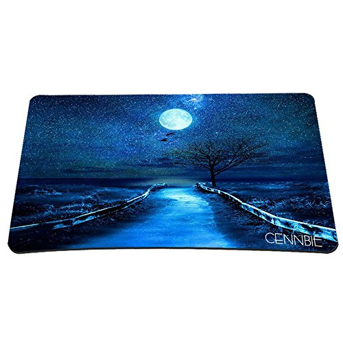51h5N6LteTL - Cennbie Professional Large Mouse Pat & Computer Game Mouse Mat Computer Desk Stationery Accessories Mouse Pads