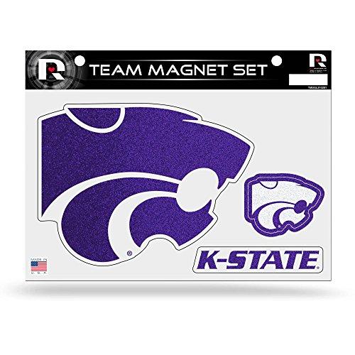 NCAA Kansas State Wildcats Bling Team Magnet (Kansas State Sheet Set)