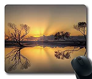 Beautiful Sunset Thanksgiving Personlized Masterpiece Limited Design Oblong Mouse Pad by Cases & Mousepads