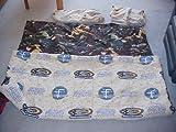 Star Wars Twin Bed Set (Comforter, Fitted Sheet, Flat Sheet, Pillow Case)