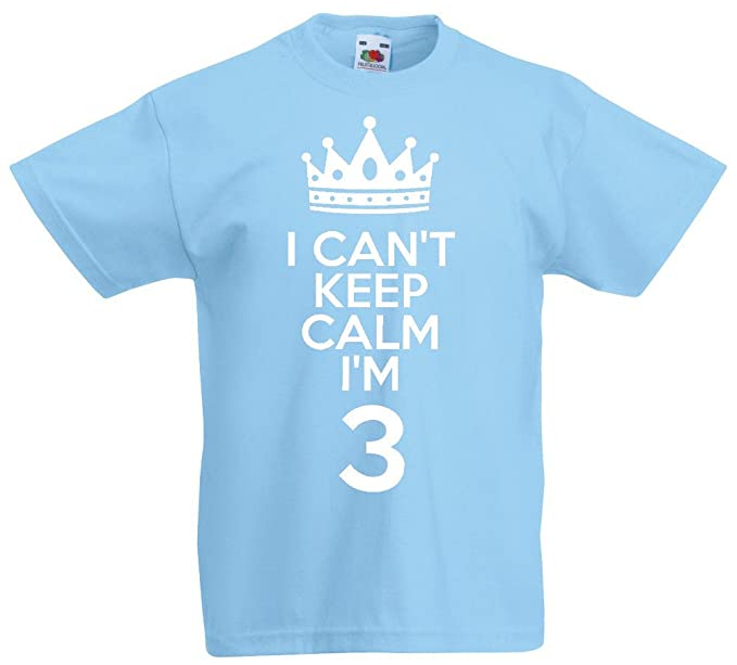 loltops I Cant Im Only 4 T-Shirt for Boys and Girls