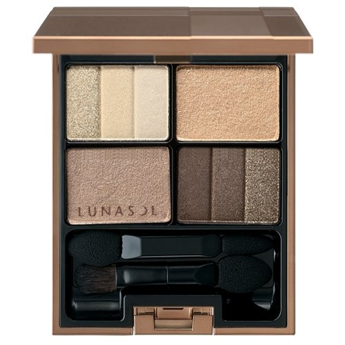 Kanebo Lunasol Three Dimensional Eyes Eyeshadow 01 Neutral Beige, 02 Soft Beige, 04 Cool Beige, 05 Deep Beige 01 Neutral Beige