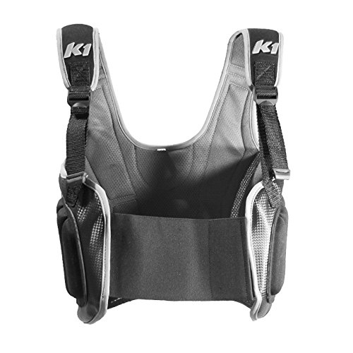 K1 Race Gear Karting Pro-Lite Rib Protector Vest (Black, Medium) ()