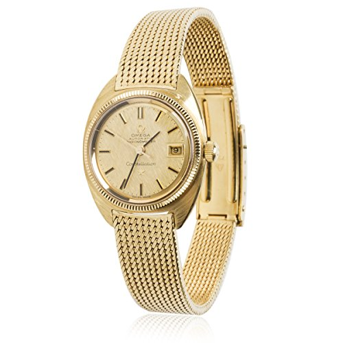 Omega Constellation Vintage 1960s Auto Chronometer Women's Watch in 18K YG (Certified Pre-owned)