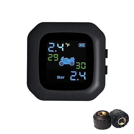 FOBO FB1574/Syst/ème de surveillance de la pression des pneus pour v/élo Syst/ème Bluetooth Noir