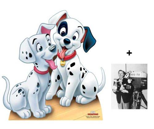 (FAN PACK - Dalmatian Puppies (101 Dalmations) LIFESIZE CARDBOARD CUTOUT (STANDEE / STANDUP) - INCLUDES 8X10 (25X20CM) STAR PHOTO - FAN PACK)
