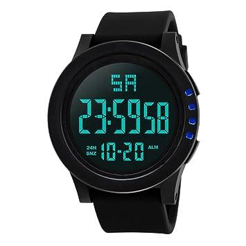 Mode Wasserdicht Männer Junge Lcd Digitale Uhren Silikon Gummi Sport Handgelenk Uhren Stoppuhr Datum Honhx Military Uhr Uhr Digitale Uhren