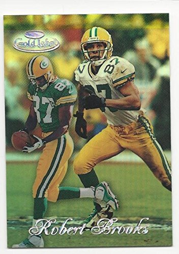 Topps Label Gold 1998 (1998 Topps Gold Label Red Robert Brooks #42 NM-MT 36/50)