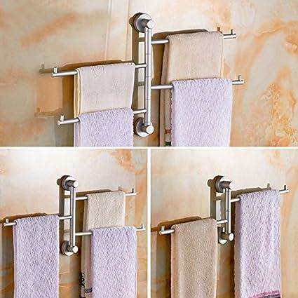 Accesorios de Baño MoomQe fácilmente para montar un buen efecto de decoración los sólidos toallas toallas