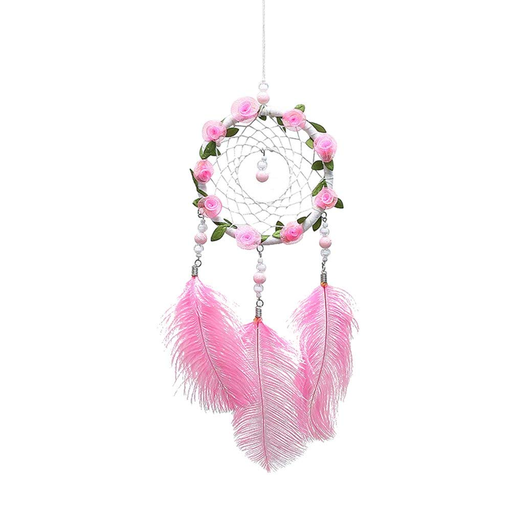 Yevison Flowers Feather Dreamcatcher Dream Catcher Bedroom Home Wall Hanging Ornaments Gift Durable and Useful by Yevison
