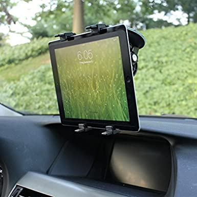 Amazon.com: 360 Degree Rotatable Windshield Car Mount Window Tablet Holder for AT&T LG G Pad F 8.0 - T-Mobile Alcatel OneTouch Pop 7 - T-Mobile LG G Pad F ...