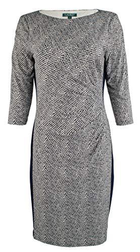 Lauren Ralph Lauren Women's Two-Tone Jersey - Tone Jersey Two Dress