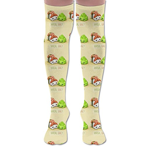 Over The Garden Wall Art Costume (Carton Sushi Baby Over Knee High Socks Sports Athletic Casual Tube)