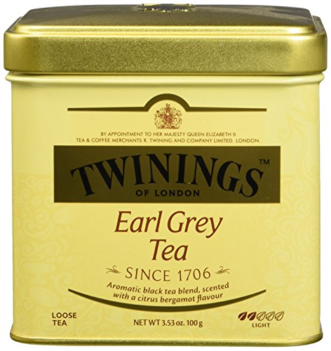 Twining Tea Loose Earl Grey, 3.53 (100g Loose Tea Tin)