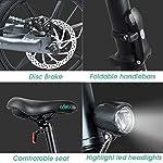 Bestice-Mountain-Bike-elettrica-FIIDO-D2S-Ebike-Bici-da-16-Pollici-Bici-elettrica-Pieghevole-Motore-da-250-W-Watt-6-Marce-Bici-elettrica-per-Adulti-pendolarismo-in-Citt-Grigio