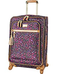 Steve Madden Luggage Midsize Softside 24 Expandable Suitcase With Spinner Wheels