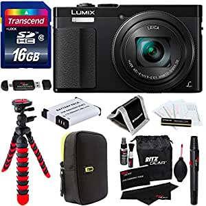 Amazon Com Panasonic Dmc Zs50k Lumix 30x Travel Zoom