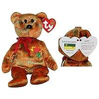 1 X TY Beanie Baby - KANATA the Bear (Exclusivo de Canadá - Provincia /Territorio aleatorio)