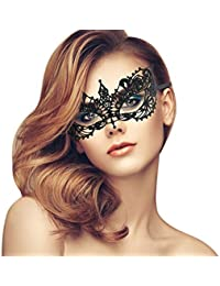 Exquisite High-end Lace Masquerade Mask (Black/Venetian/Soft Version)