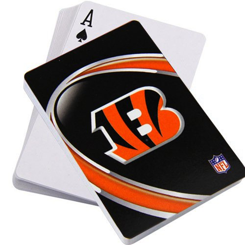 Hunter NFL Cincinnati Bengals Logo Playing Cards