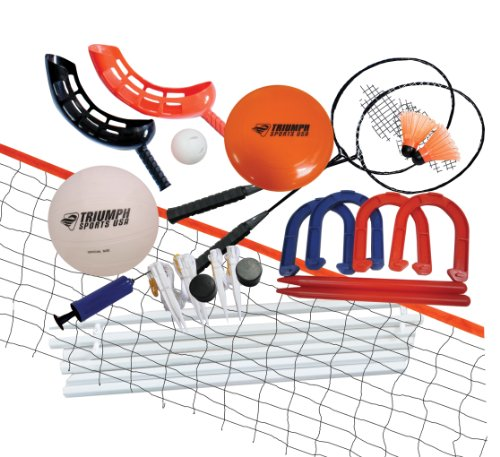 Easy Catch 5 Net - Triumph Five Outdoor Games Combo Set