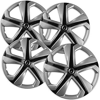 Amazon Com Oxgord Hub Caps For 16 17 Honda Civic Pack Of 4 Wheel