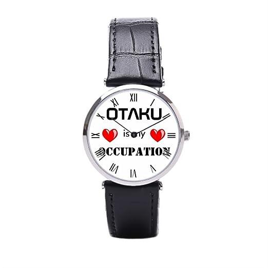 Smile té comprar en línea reloj de pulsera Anime Manga para hombre piel banda reloj: Amazon.es: Relojes