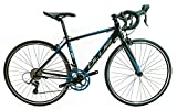 Image of BLUE R-650 650c 47cm 6061 Gravel Endurance Road Bike Shimano Sora 2x9 Speed NEW