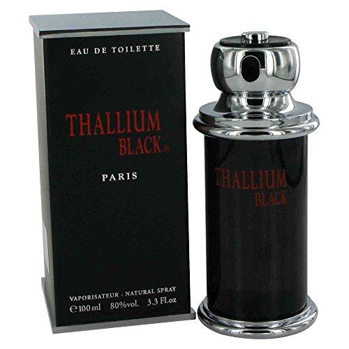Thallium Black for Men by Yves De Sistelle 3.3 oz EDT - Thallium Cologne Sport