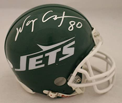 Amazon.com  Wayne Chrebet Autographed Signed New York Jets TB Mini Helmet  JSA  Sports Collectibles 7db6a7cff