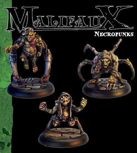 Necropunks (3 pack) B002OFG22E Miniaturmodelle Starker Wert   Großer Räumungsverkauf