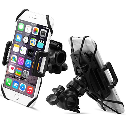 QUICK-Install Bike Phone Mount, Sahara Sailor Universal 360 D Rotating Bicycle Phone Holder Fit with...