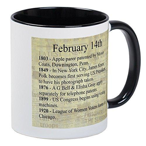 CafePress February 14Th Mugs Unique Coffee Mug, Coffee Cup