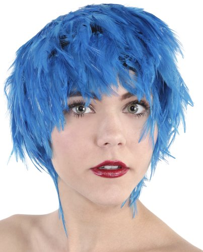 Zucker Feather (TM) - Hackle Feather Wig-Solid - Dark Turquoise ()