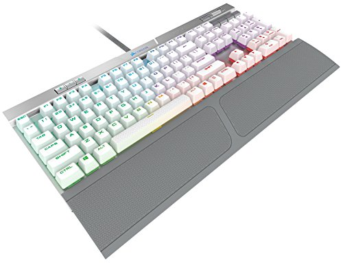 2d2d6903704 CORSAIR K70 RGB MK.2 SE Mechanical RAPIDFIRE Gaming Keyboard - USB  Passthrough & Media Controls - PBT Double-Shot Keycaps - Cherry MX Speed -  RGB LED ...